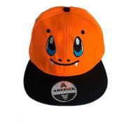 Gorro Pokémon Charmander Bordado Talla M - Enter Games