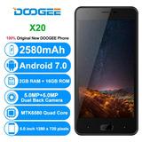 Celular Doogee X20 5¨ 2gb Ram Quad-core Android 7