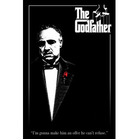 The Godfather - Red Rose - Poster Importado De 90 X 60 Cm