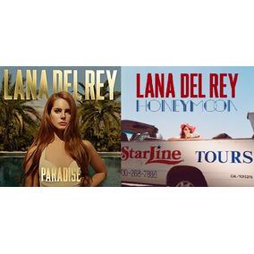Lote Dos Discos Lana Del Rey Nuevos! Paradise Y Honeymoon