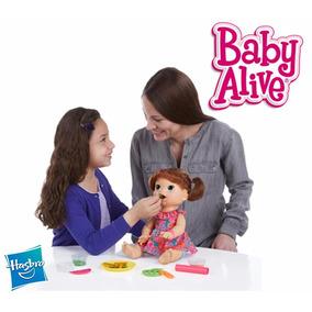 A Melhor Baby Alive Comilona Hasbro 100% Original Ing E Esp