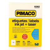 Etiqueta Carta Ink Jet 6282 Pimaco 6282