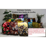 Kit 10 Mantas Casal Cobertores Embaladas Individual+ Brinde