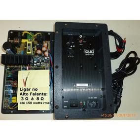Placa Amplificadora Ativa 150 W P/ Subwoofer Passivo Sony