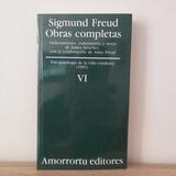 Sigmund Freud Obras Completas Tomo Vi