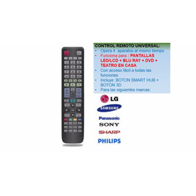 Control Remoto Para Pantalla Dvd Blu Ray Teatro En Casa U59