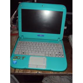 Laptop Acer C-a-n-a-i-m-a Lt. Azul 1,6ghz 2gb Ram 500 Gb Hdd