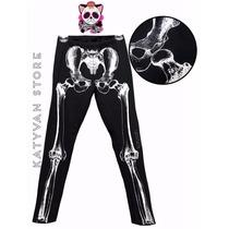 Playeras Leggins Esqueleto Calavera Moda Pastel Goth Grunge