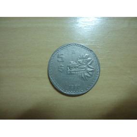 Moeda Mexico 5 Pesos De 1980 A 1985 Catalogo Km#485