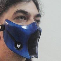 Máscara Subzero (réplica) Jogo Mortal Kombat 9