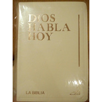Sagrada Biblia Católica Dios Habla Hoy. Con Cantos Dorados.