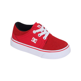 Zapato Dc Shoes Casual Toddler Trase Slip Bebé