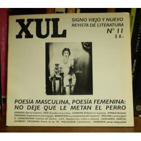 Revista Xul Nº 11 Poesía Masculina, Poesía Femenina