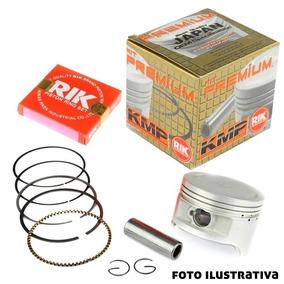 Kit Pistao Aneis Rik Honda Cbx Xr 250 Twister Tornado 1,25mm