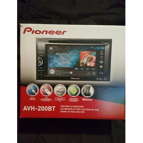 Reproductor Pioneer Avh-200bt Original Bluetooth Nuevo 2 Dim