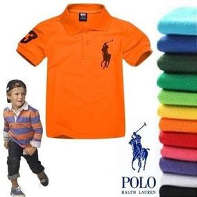 10 Camisa Camiseta Infantil Gola Polo Ralph Lauren Atacado