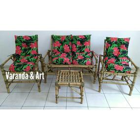 Poltronas De Bambu Valor Promocional Cadeiras Sofá Jogo