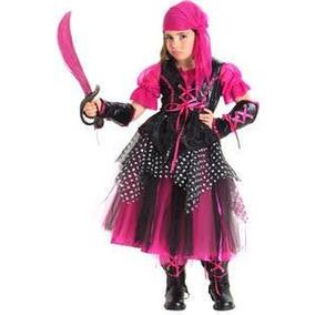 Bello Disfraz Para Niña De Pirata Importado De Usa