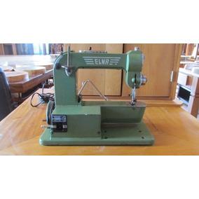 Maquina De Costura Antiga Elna Com Caixa