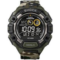 Relógio Masculino Timex Expedition T49971ww/tn 48mm Camuflad