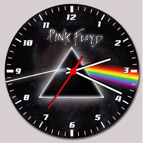 Relógio De Parede Pink Floyd -the Dark Side Of The Moon Mod5