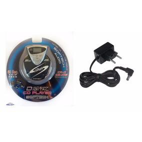 Discman Softech Cd Player Digital Anti-shock E Fonte