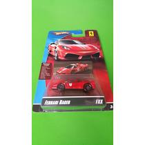 Hot Wheells Ferrari Escala 1.64 Série Especial. Lacrado.