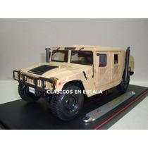 Humvee - Hummer Militar Us Army - Camouflage - Maisto 1/18