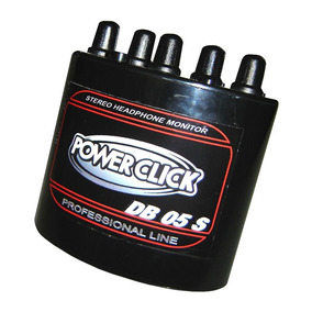 Amplificador Db05st Headphone Power Click Db 05 Stereo Fonte