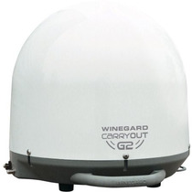 Portable Tv Vía Satélite Winegard Gm-2000 Carryout G2 Automá