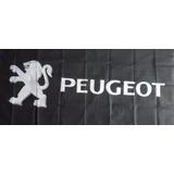 Bandera Peugeot 150 Cm. X 75 Cm.