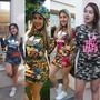 Vestido Adidas La Bella Mafia Floral Camuflado Capuz 6 Pçs
