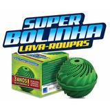 Super Bolinha Original P/ Lavar Roupa 1095 Lavagens / 3 Anos