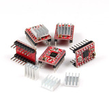 Modulo Controlador Motor Stepper Arduino A4988 Pic Disipador