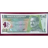 Billete De 1 Quetzal De Plástico Guatemala