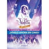 Poster Original Cine Violeta En Concierto ( Martina Stoessel