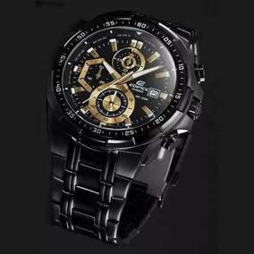 2261d271ca1 Relógio Casio Masculino Edifice Ef539 Original Preto Dourado
