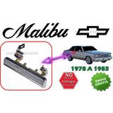 78-83 Chevrolet Malibu Manija Exterior Cromada Lado Derecho