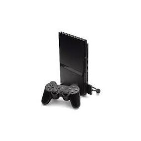 Playstation 2 Ps2 Desbloqueado Usado + 1 Controles + Jogos
