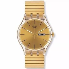 Reloj Swatch Suok707b Dorado/ Rosè/ Plateado