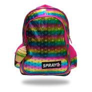 Mochila Multicolor Spray G Hearts Mod 6070-h