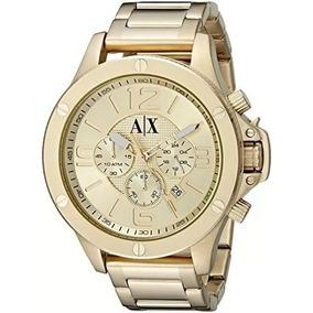 4c15a8f2f6d Prensa De Relogio Manual - Relógio Armani Exchange Masculino no ...