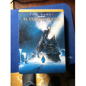 Pelicula El Expreso Polar 2 Dvds Original Caja De Metal