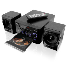 Mini-system C/ Dvd Player Usb Rádio Fm Karaokê 300w Sp141