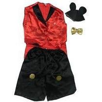 Fantasia Mickey - Infantil - Luxo