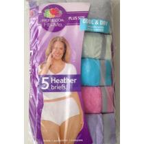 Bikini Calzon Panty P/dama Extras 10,11,12,13 Plus Interior