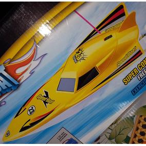 Lancha Radio Control Rc 2 Motores 40cm Speed Boat Zona Sur