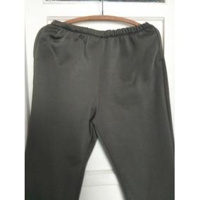 Pantalon Polar Talle 4 Xl. Con Bolsillos, Verde Aceituna
