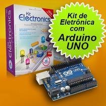Kit De Eletrônica Para Montar Com Arduino Uno*