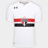 Camiseta São Paulo Oficial Under Armour Uniforme 1,2 E 3